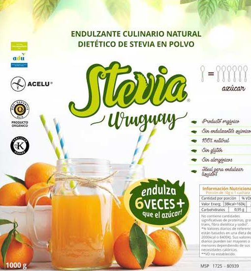 Stevia 1 a 6