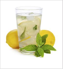 Jugo de limón con Stevia