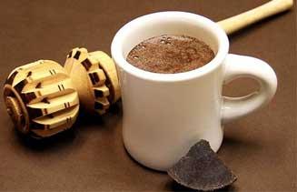 Chocolate caliente sin azúcar