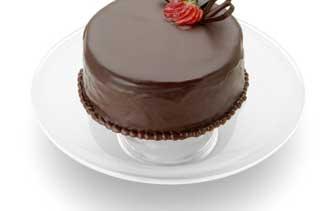 Torta de chocolate con stevia